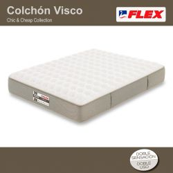 Colchón Chic & Cheap Visco de Flex