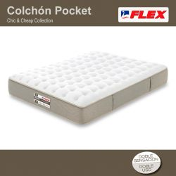 Colchón Chic & Cheap Pocket de Flex
