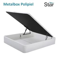 Canapé Abatible Metalbox Polipiel de Star