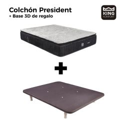 Colchón President + Base 3D King Konfort de regalo